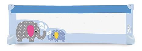 Asalvo – Barrera de cama 150 x 43,5 cm) azul azul