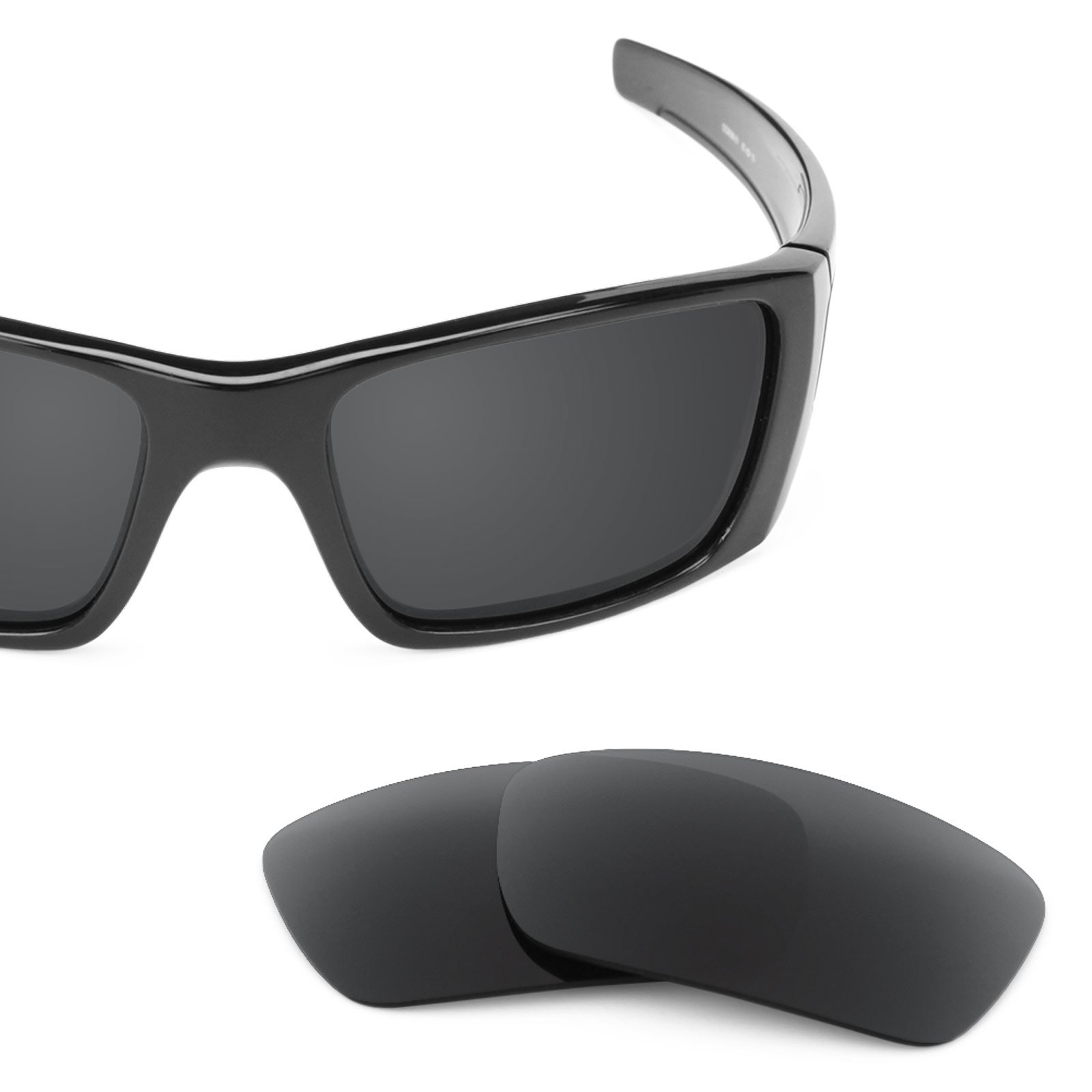 Revant Polarized Replacement Lenses for Oakley Fuel Cell Stealth Black by Revant