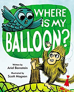 Book Cover: Where Is My Balloon?