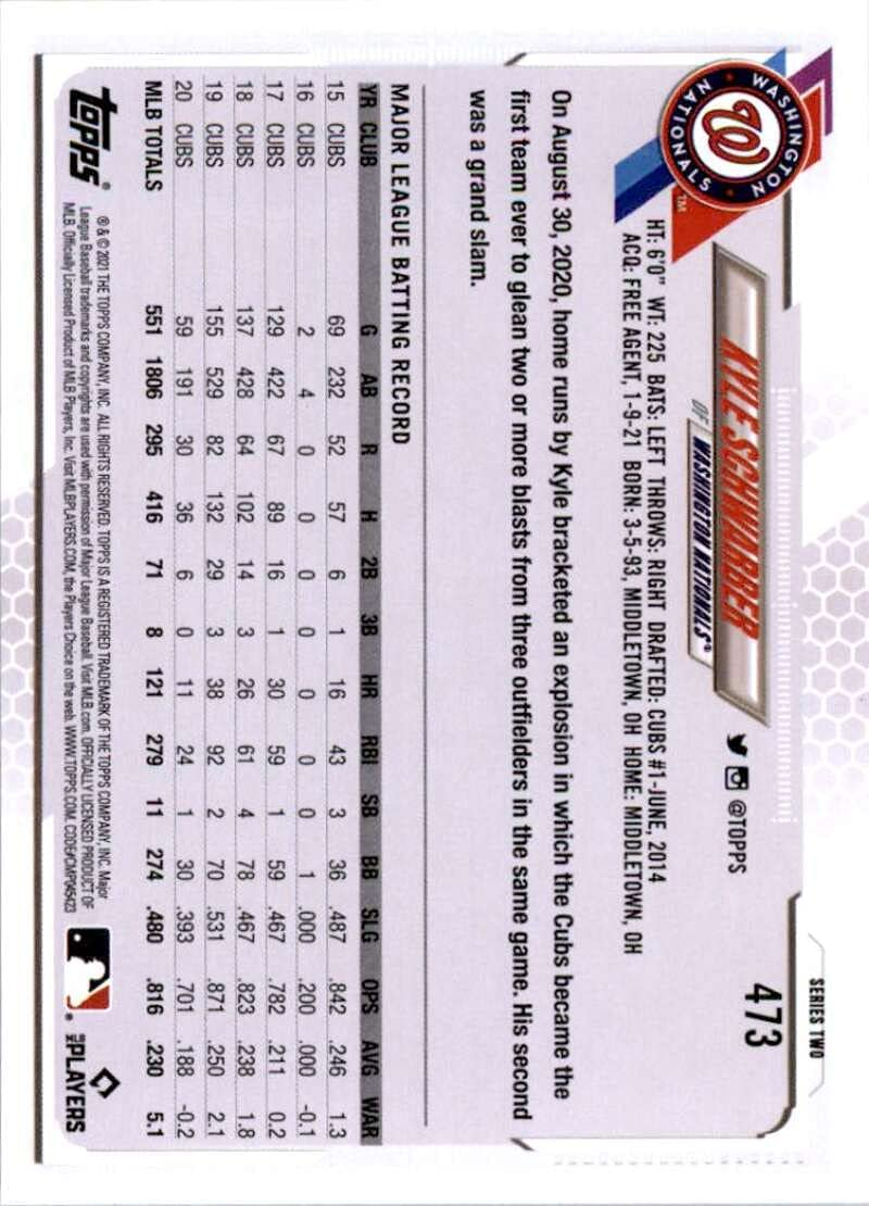 Sports Collectibles Base Singles ghdonat.com 2021 Topps #473 Kyle ...