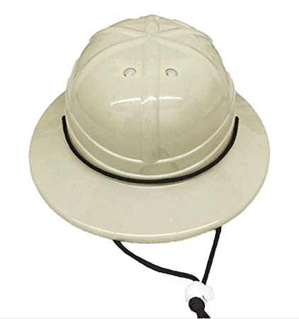 Amazoncom Giftexpress Kids Hard Plastic Safari Pith Helmet Gray