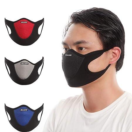 Motos De Facial Mascarilla Filtro Para Bicicletas Deportes Alergia Polución Rennicoco Aire Máscara Carpintería Antipolvo