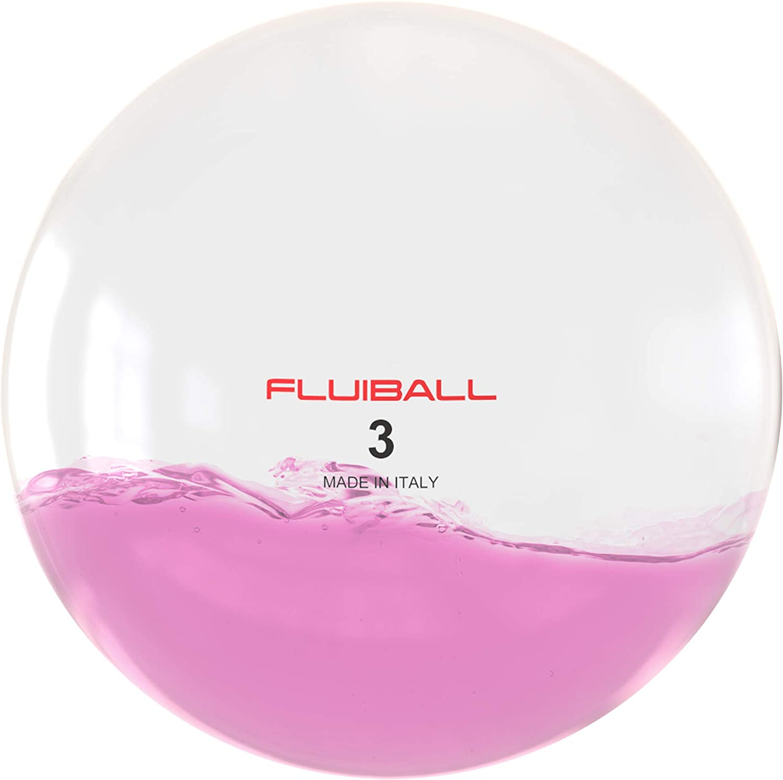 Reaxing Fluiball 3 Kg, Peso Ligero, innovativa pelota medicinal ...
