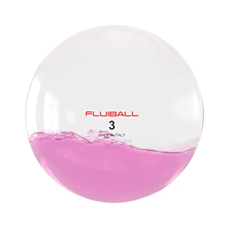 Reaxing Fluiball 3 Kg, Peso Ligero, innovativa pelota medicinal con una cantidad variable de