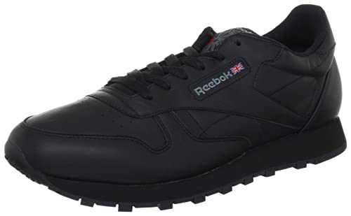 210499ceac18 Reebok Classic Leather Women s Training Running Shoes, Black  (Intense-Black), 3.5