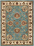 "Cheap Well Woven Timeless Abbasi Light Blue Traditional Area Rug 3'11"" X 5'3″"