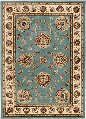 (Well Woven Timeless Abbasi Light Blue Traditional Area Rug 3'11
