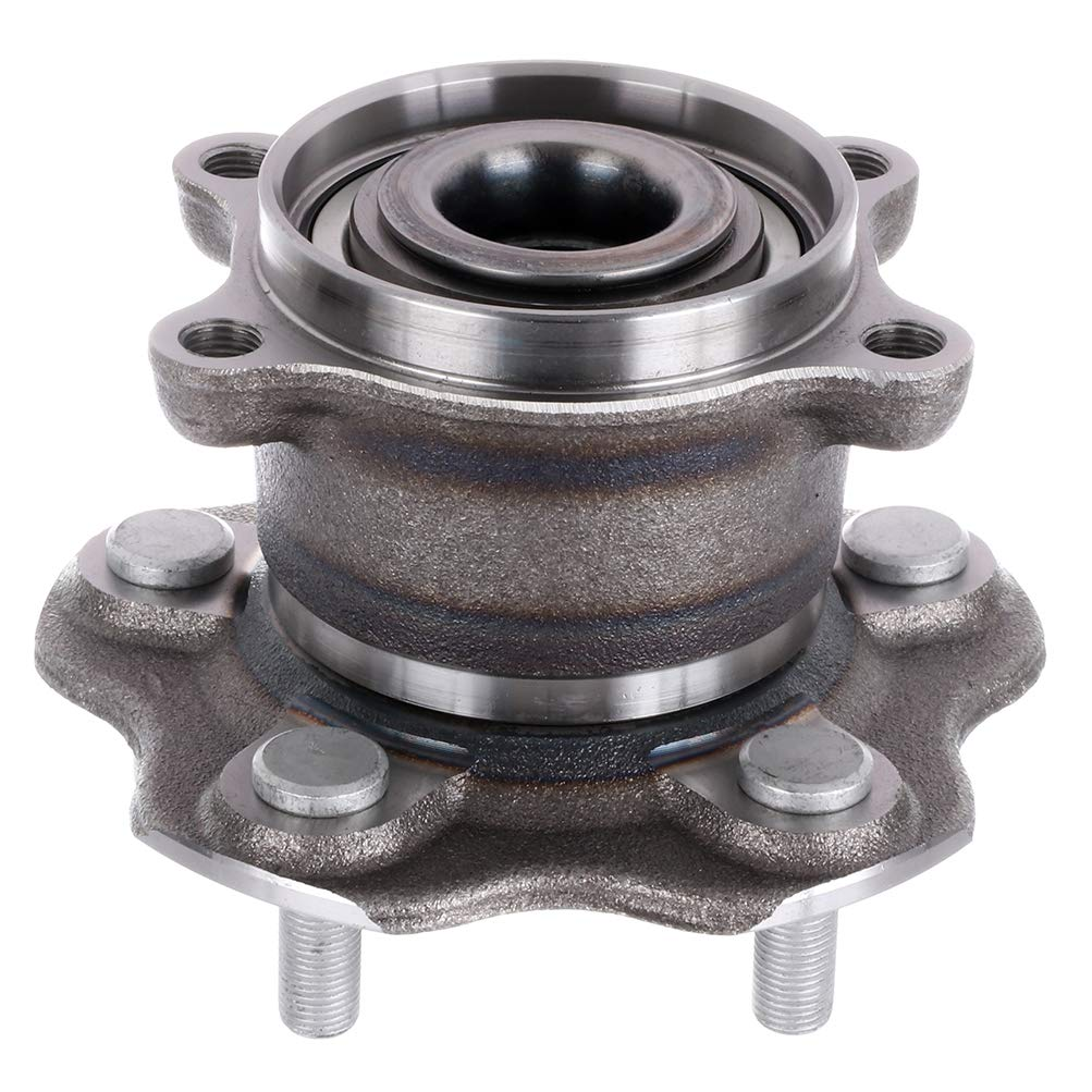 Pack of 1 OCPTY New Wheel Hub Bearings Rear 5 Lugs Compatible for Nissan Rogue 2017 OE 512535