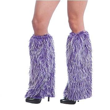 Orlob Handelsgesellschaft mbH Calentadores de Monstruo Botines púrpuras Puños de Piel Disfraz de Monstruo Carnaval Hippie: Amazon.es: Productos para ...