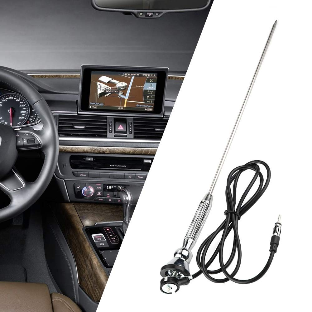 1 PC mit 18,5Universal Auto-Dachfender Radio AM//FM-Antenne Antenne 180 /° drehbar. Outbit Autoantenne