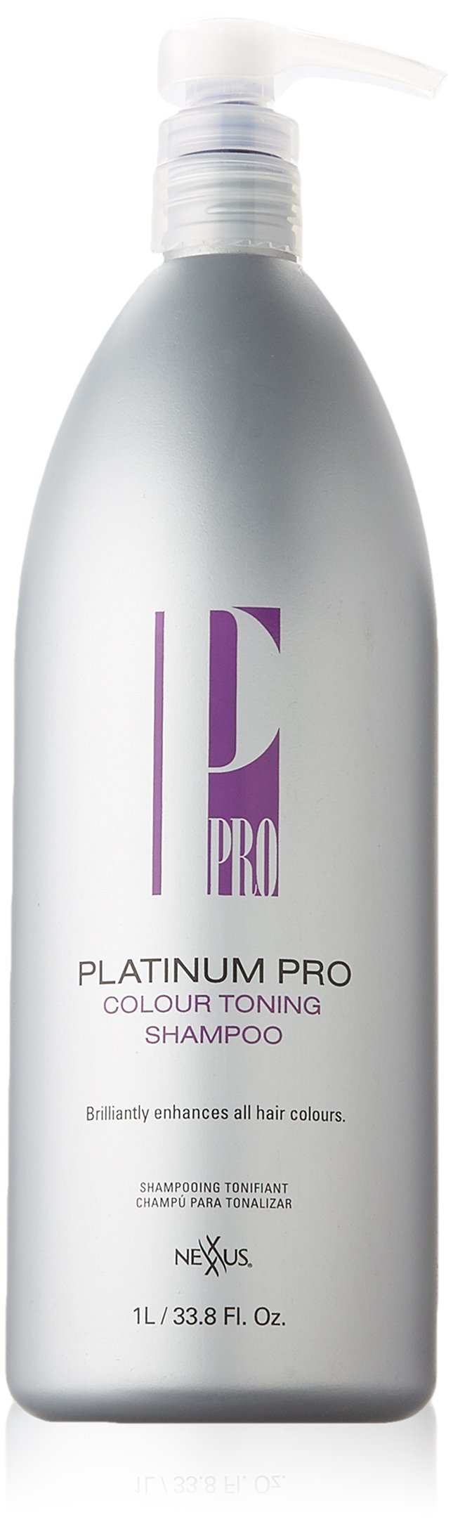 Nexxus Platinum Pro Colour Toning Shampoo, 33.8 Ounce