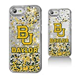 Keyscaper NCAA Baylor Bears Unisex Apple iPhone Glitter Caseglitter Case, Clear, iPhone 8/7/ 6
