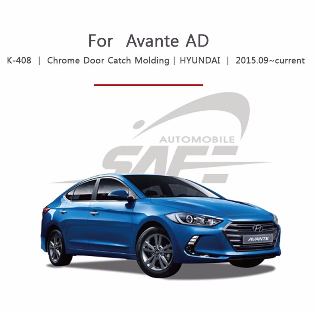 AVANTE AD 4dr Sedan 2016 K-408 Chrome Door Handle Cover for Hyundai Elantra KYOUNGDONG