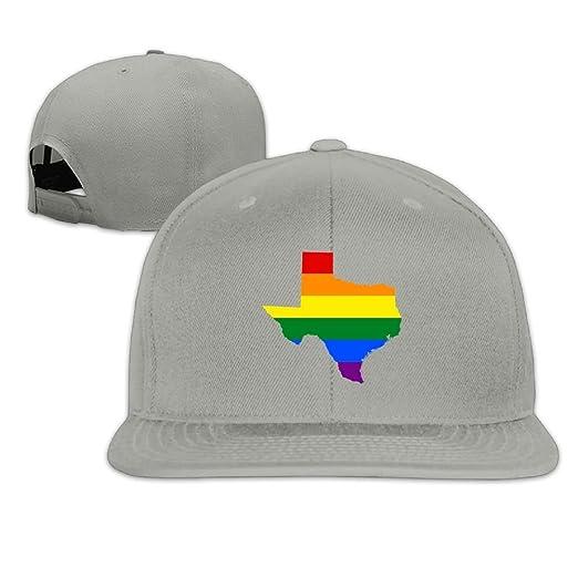 Image Unavailable. Image not available for. Color  Maurm Rainbow Texas Flag  Baseball Caps Trucker ... 3ca9e8a96e