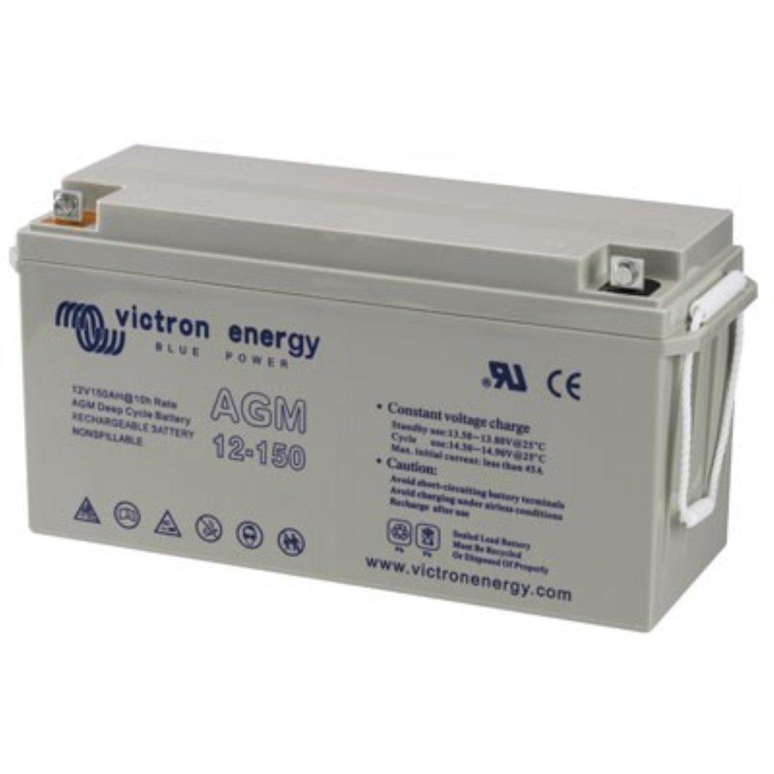 Batterie solaire AGM Victron 165 Ah 12V VICTRON ENERGY BAT412151080