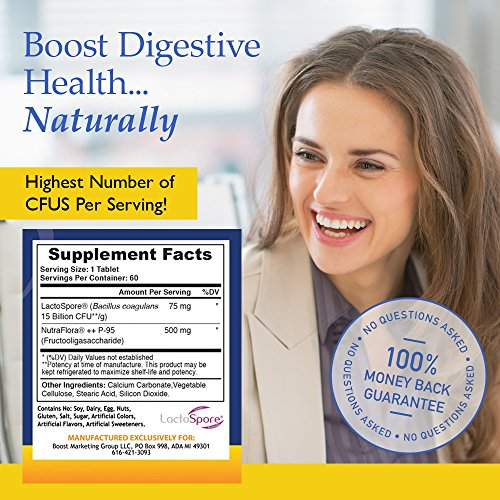 Nutrition Essentials #1 Rated Probiotic - Most CFUs per Bottle - 60 Day Supply with 100% Moneyback Guarantee