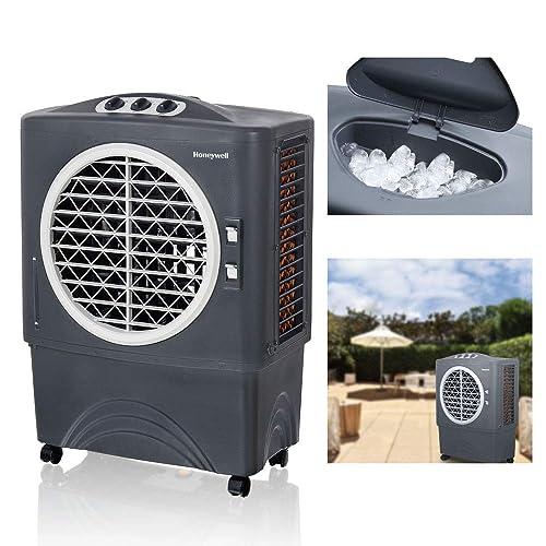 Honeywell 1062 CFM Indoor Air Swamp Portable Evaporative Cooler