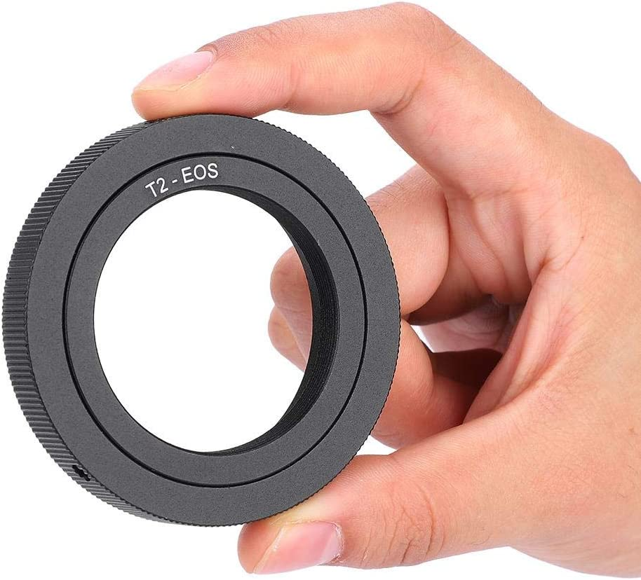 T2-EOS T2 Lens Mount Adapter Ring,Professional Manual Control Lens Adapter with Universal Thread Mount,Lens Adapter Ring for Camera Lens.