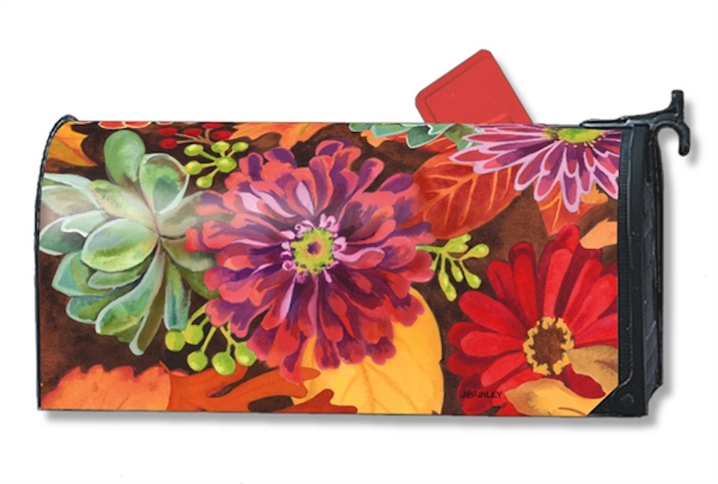 MailWraps Autumn Jazz Mailbox Cover #01196
