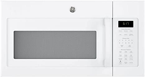 Amazon.com: GE 1.7 Cu. Horno de microondas de color blanco ...