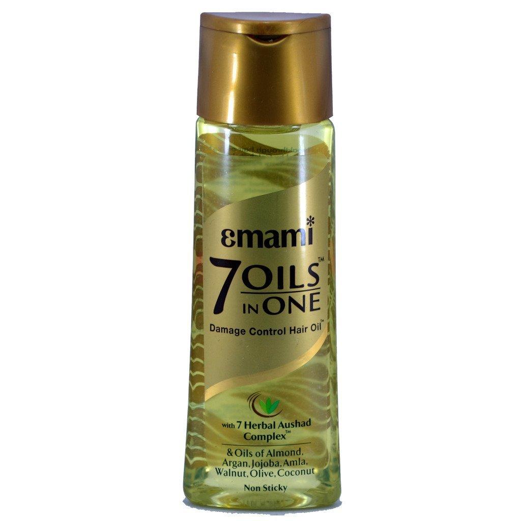 Emami 7 Oils In One Oil - 2 Bottles 100ml/3.38oz Each