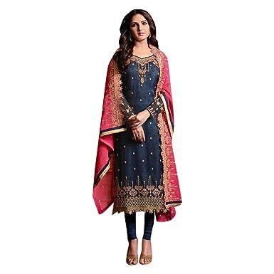 Amazon.com: Ethnic Hindu 7432 - Traje de fiesta de estilo ...