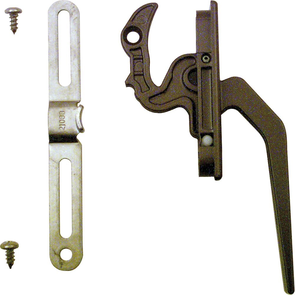 Prime-Line Products TH 23093 Casement Locking Handle with Keeper, Bronze