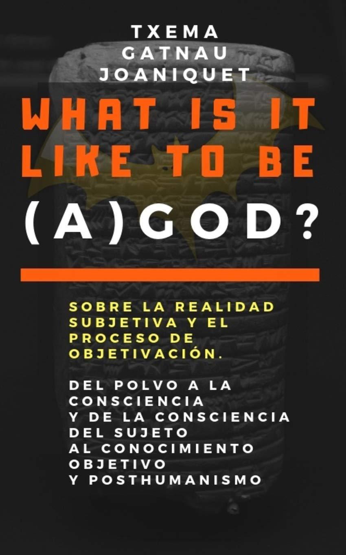 What is it like to be (a) God?: Sobre la realidad subjetiva y el proceso de objetivación. Del polvo a la consciencia y de la consciencia del sujeto al .