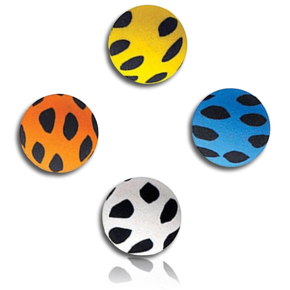Custom & Unique {27mm} 500 Bulk Pack, Mid-Size Super High Bouncy Balls, Made of Grade A+ Rebound Rubber w/ Mosaic Spotted Splotchy Dotted Polk-a-Dotted Patchy Blotchy Dappled Flecked Spot (Multicolor)