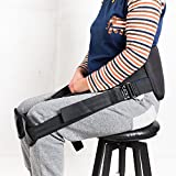 Support belt for better back whole day Back Pain Relief -Posture Correcting Harness & Relieve Sciatica, Keeps Back Straight While Seated, Suitable in Office or At Home or Outdoors (Black)