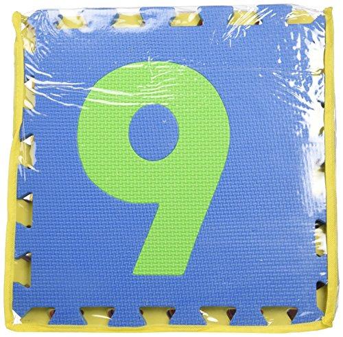 Edu Tile Numbers, 10 Piece - Edushape Tiles Edu