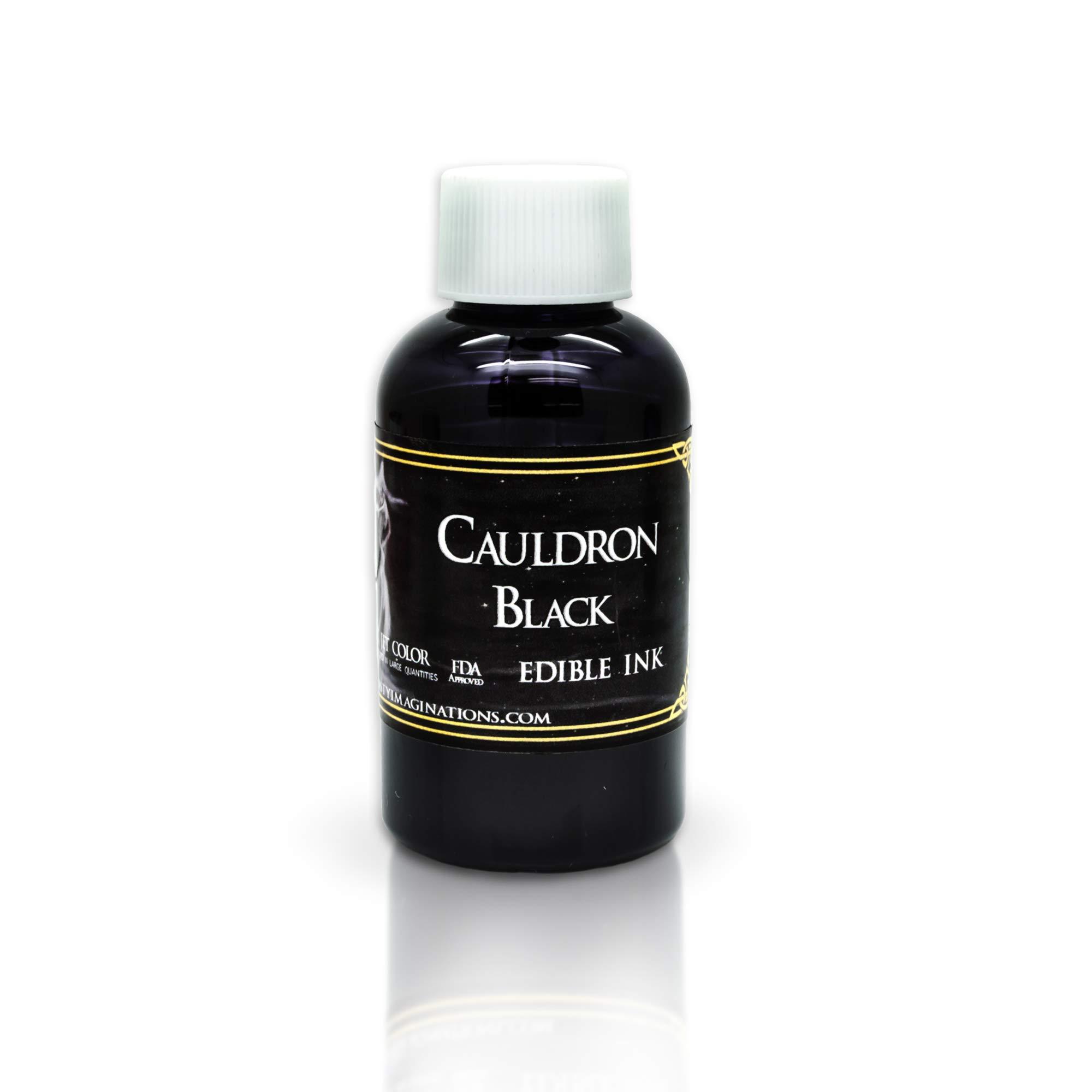 Edible Ink Replenishment Kit Refill - Black - 4oz - Bottles