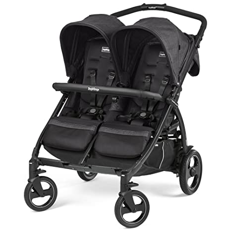 Peg Perego Book For Two - Silla doble de paseo plegable, tipo libro, color