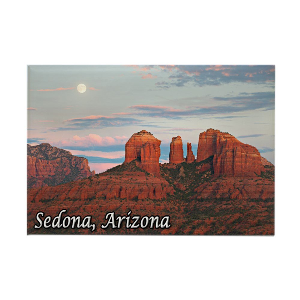 "CafePress Cathedral Rock, Sedona, AZ Rectangle Magnet, 2""x3"" Refrigerator Magnet"