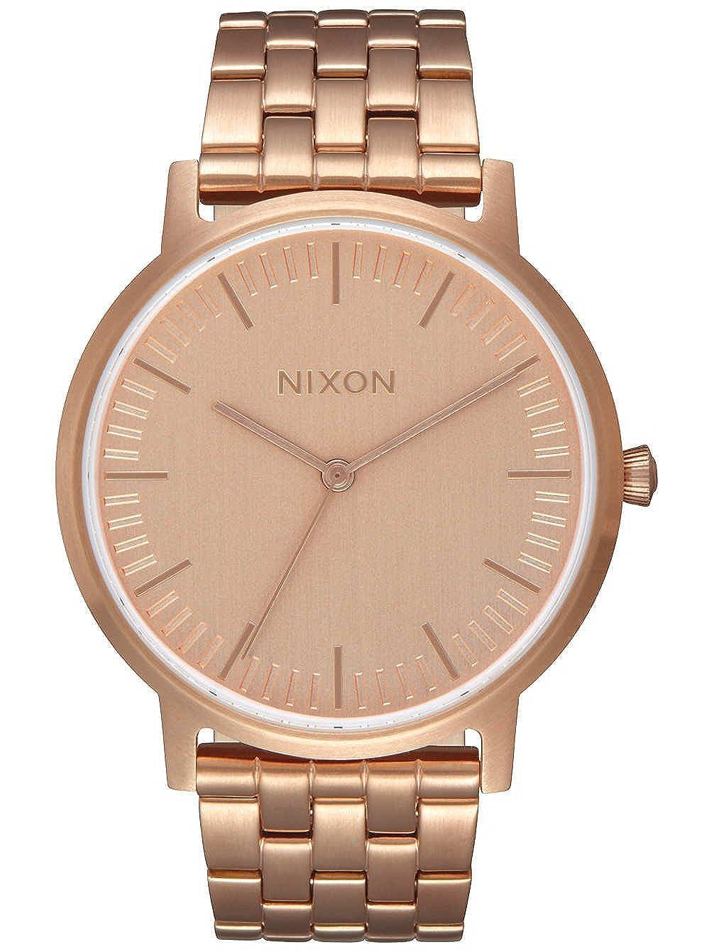 Nixon Reloj Analogico para Unisex de Cuarzo con Correa en Acero Inoxidable A1198-897-00