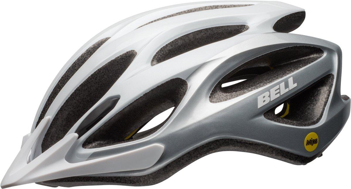 BELL Traverse MIPS Fahrrad Helm Gr. 54-61cm weiß Silber 2019