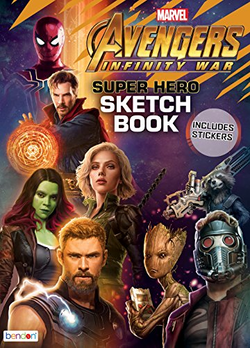 Bendon Avengers Activity Book -