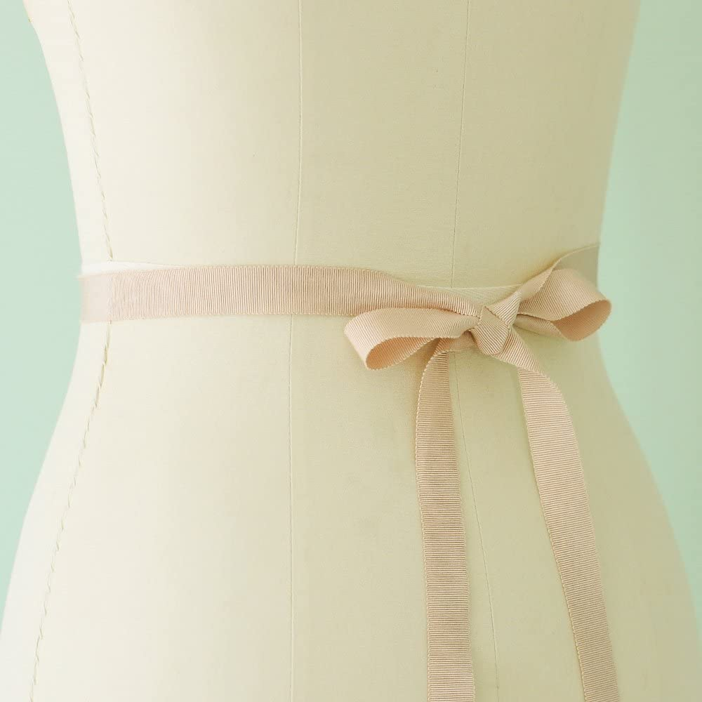 ULAPAN Womens Pearls Bridal Sash Bridal Belt Rhinestones Wedding Belt Wedding Sash,LWS05C