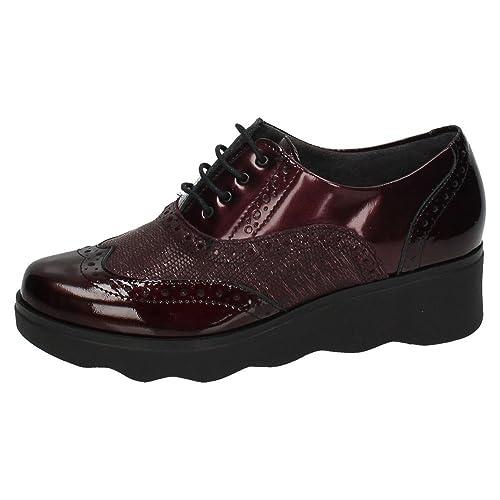 Zapatos Cordón Amazon Blucher Pitillos 1321 es Mujer qCABnxfgw