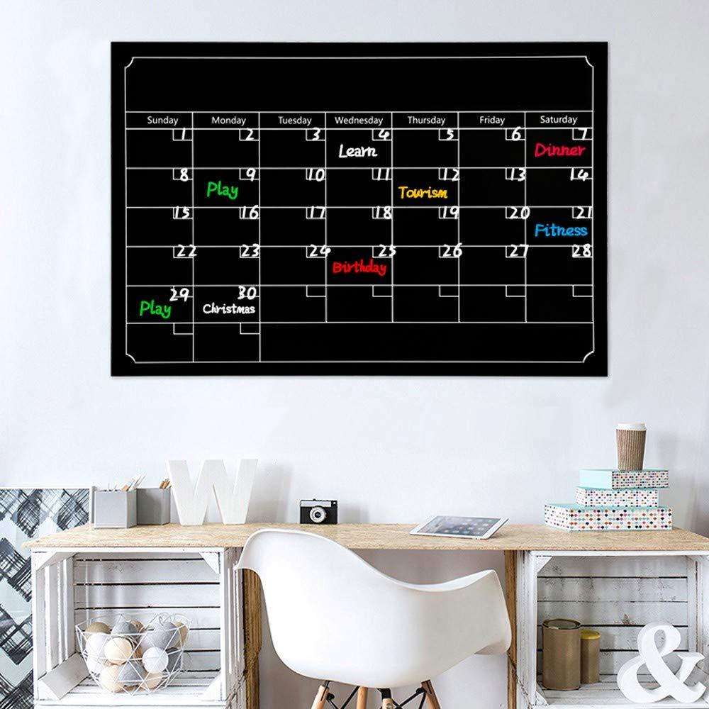 Amazon.com: MaxFox - Calendario magnético de pizarra para el ...