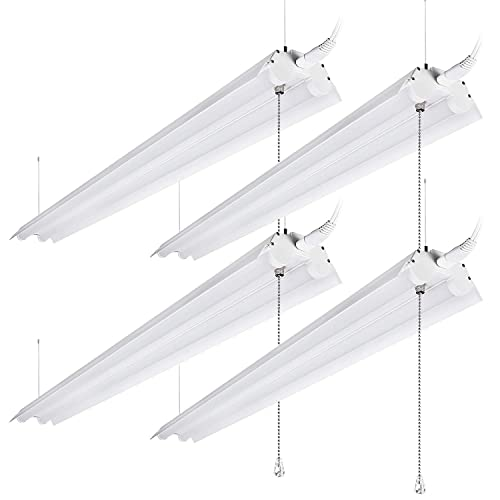 LeonLite 40W 4ft Linkable LED Utility Shop Light