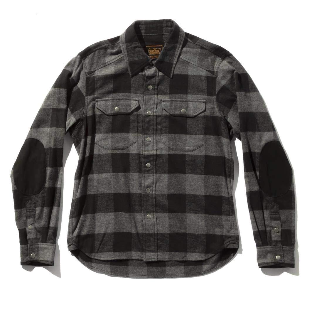 カドヤ(KADOYA) K'S PRODUCT バイク用シャツ RIDE WORK SHIRT WINTER(ライド ワークシャツ ウィンター) L ブラック NO.6240 B07HK85C6C ブラック L