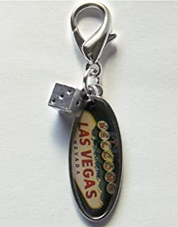 product image for Diva-Dog 'Leaving Las Vegas' Dog Collar Charm