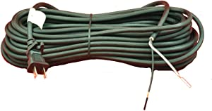 Generic Vacuum Cord 50 in Black 17-2 Wire