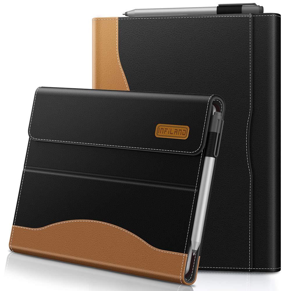 Funda Estilo Folio Para Microsoft Surface Go (10 ) Bolsillo