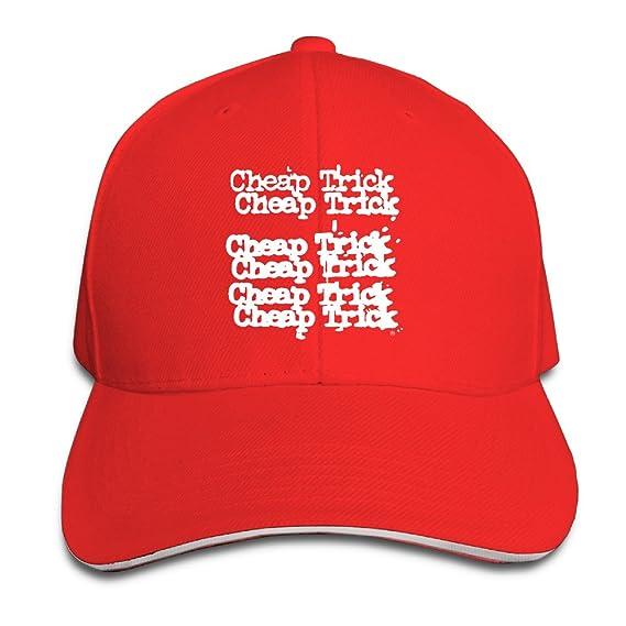 27c30a65d1a5bb Cheap Trick Rick Band Music Logo Sandwich Bill Cap Visor Hat Style ...