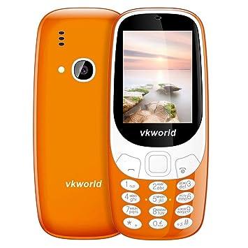 Teléfono móvil Teléfono con Funciones VKworld Z3310, Pantalla 3D de 2.4 Pulgadas, batería de