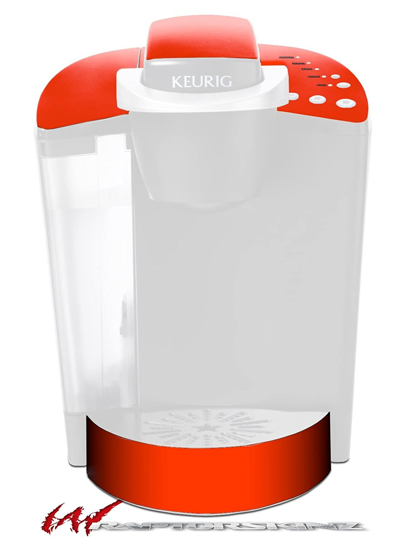 ソリッドコレクションレッド – デカールスタイルビニールスキンFits Keurig k40 Eliteコーヒーメーカー( Keurig Not Included )   B017AK458K