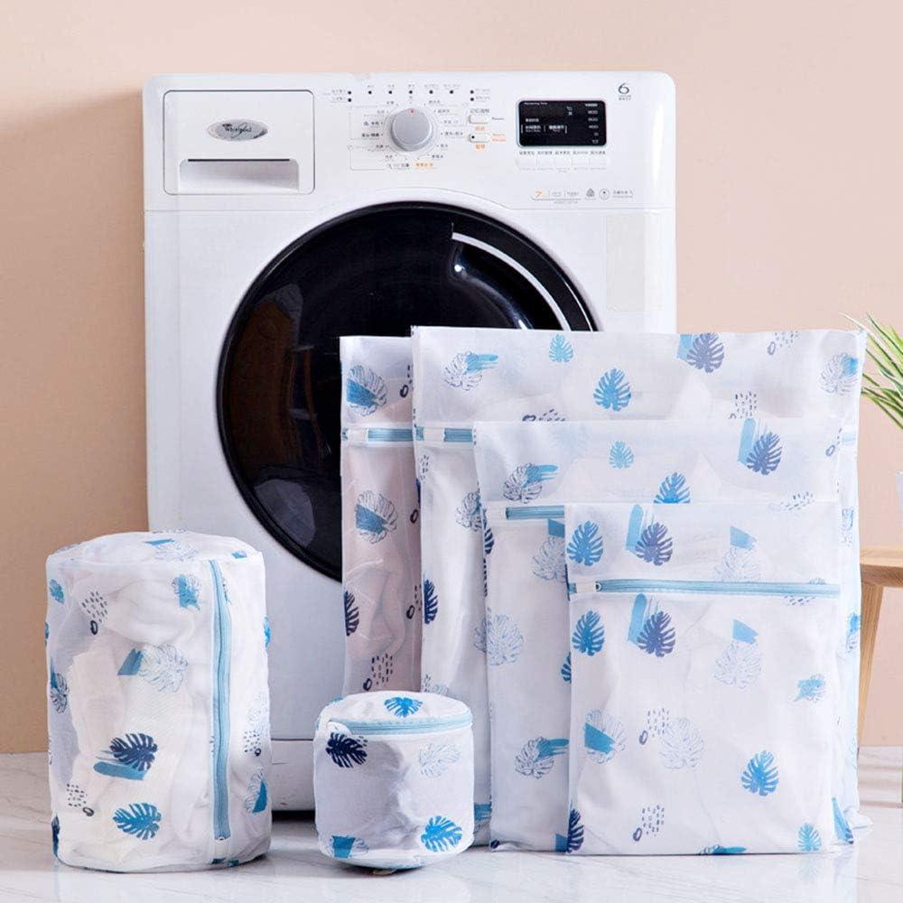7 Bolsas de Lavado netas Rosa lencer/ía Sujetador Kitchen-dream Bolsas de lavander/ía de Malla Ropa Interior calceter/ía reutilizar la Bolsa de Lavadora Duradera para Blusa Delicada