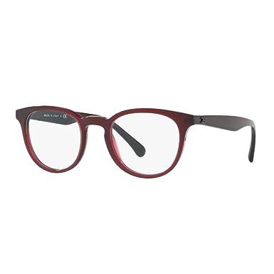 chanel - Monture de lunettes - Femme violet bordeaux Taille unique ... e86c15b6e857